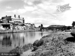 Carmarthen, The Riverside 1962