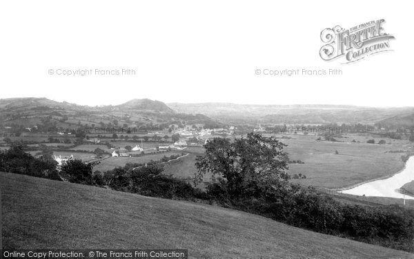 Photo of Carmarthen, Towy Valley 1893
