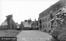 Trinity College, The Drive c.1950, Carmarthen