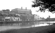 Carmarthen, View From Riverside Walk 1949