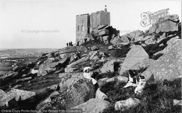 Carn Brea, 1906