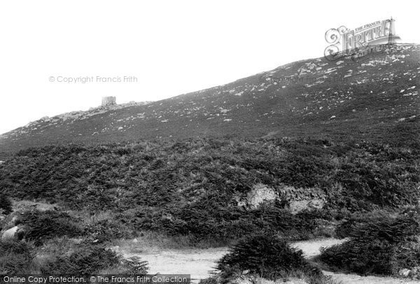 Photo of Carn Brea, 1906
