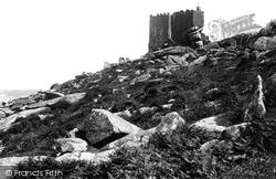 Carn Brea, Castle 1891