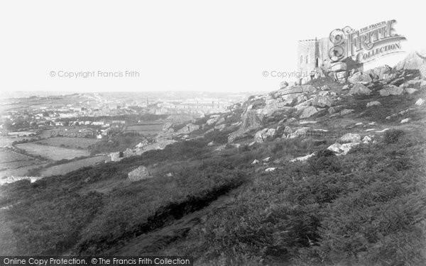 Photo of Carn Brea, Castle 1906