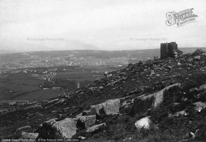 Photo of Carn Brea, Castle And Redruth 1891