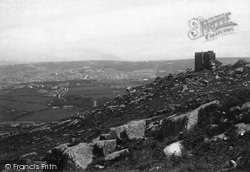 Carn Brea, Castle And Redruth 1891