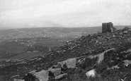 Carn Brea, Castle And Town 1891