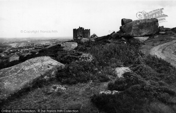 Photo of Carn Brea, The Castle c.1955