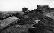Carn Brea, The Castle c.1955