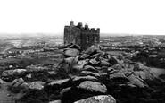 Carn Brea, the Castle c1955