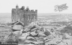 Carn Brea, The Castle c.1955