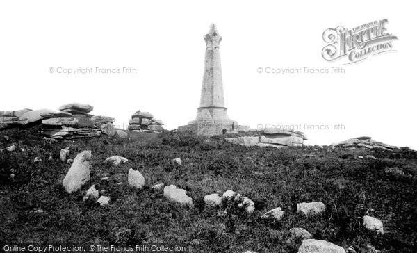 Carn Brea, the Monument 1891