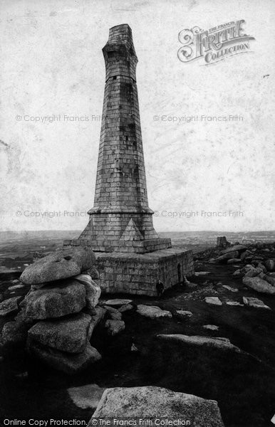 Photo of Carn Brea, The Monument 1906