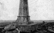 Carn Brea, The Monument 1906