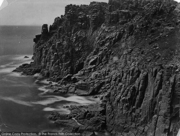 Photo of Carn Keys, Cheese Rocks c.1864
