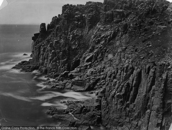 Carn Keys, Cheese Rocks c1864