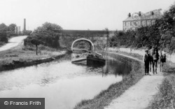 Carnforth, Canal 1918