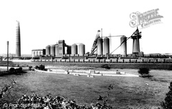 Carnforth, Iron Works 1906