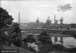 Carnforth, Iron Works 1918