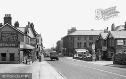 Carnforth, Lancaster Road c.1955