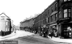 Carnforth, Market Street 1906