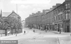Carnforth, Market Street c.1910