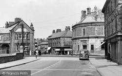 Carnforth, Market Street c.1955