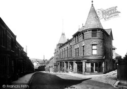 Carnforth, New Street 1906