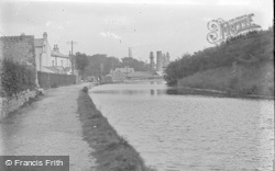Carnforth, On The Canal c.1910