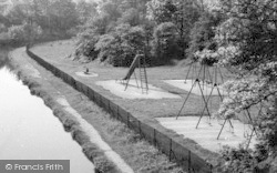 Carnforth, Playground c.1955