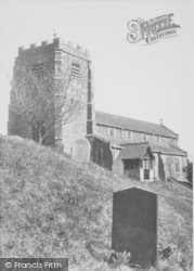 Carnforth, St Michael's Church c.1955