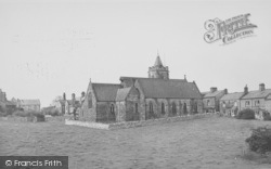 Carnforth, The Church c.1955