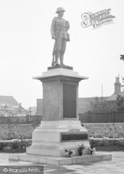 Carnforth, The War Memorial 1925