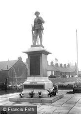Carnforth, the War Memorial 1925