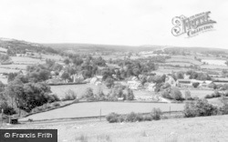 Carno, General View c.1955