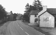 Carno, Main Street c1965