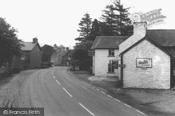 Carno, Main Street c.1965