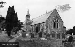 Carno, The Church c.1960