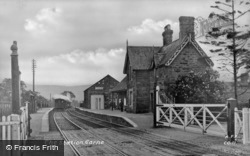 The Station c.1955, Carno