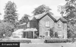 Carno, Ty Brith Guest House c.1955