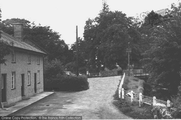Carno, Village c1955