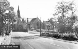 Carnwath, Parish Church And St Mary's Aisle c.1955