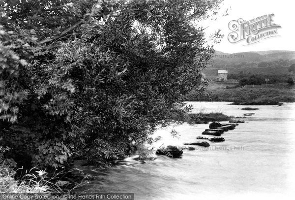 Carperby, the Stepping Stones 1909