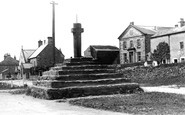 Carperby, the Village and Cross 1909