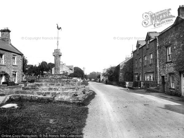 Carperby, Village and Cross 1929