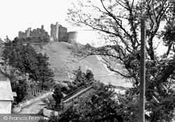 Carreg Cennen, Castle 1936