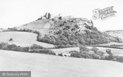 Carreg Cennen, Castle c.1939