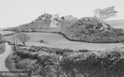 Carreg Cennen, Castle c.1960