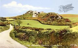 Castle c.1960, Carreg Cennen