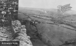 View From Castle c.1960, Carreg Cennen